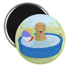 "Golden Summertime 2.25"" Magnet (10 pack)"