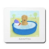 Golden Summertime Mousepad