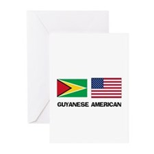 Guyanese American Greeting Cards (Pk of 10)