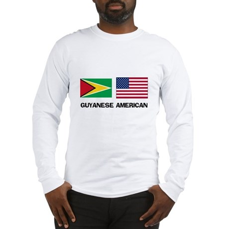 Guyanese American Long Sleeve T-Shirt