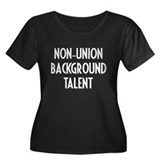 Non-Union Background Talent.. Women's Plus Size Sc