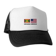 Grenadian American Trucker Hat