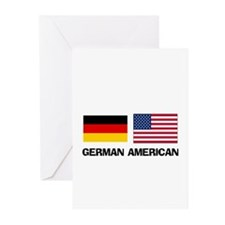 German American Greeting Cards (Pk of 10)