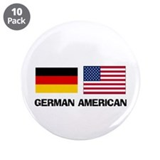 "German American 3.5"" Button (10 pack)"