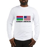 Gambian American Long Sleeve T-Shirt