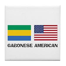 Cute Gabon language Tile Coaster