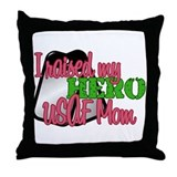 Unique Married to a soldier Throw Pillow