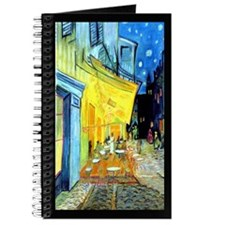 Van Gogh Cafe Terrace At Night Fine Art Journal