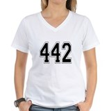 442 Womens V-Neck T-Shirt