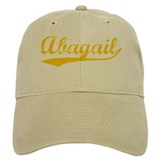 Vintage Abagail (Orange) Cap