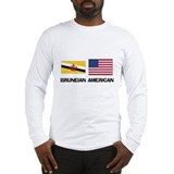Bruneian American Long Sleeve T-Shirt