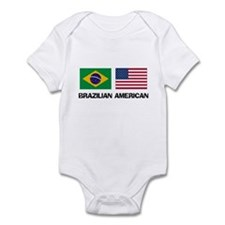 Brazilian American Infant Bodysuit