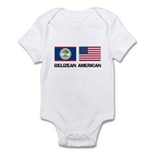 Belizean American Infant Bodysuit