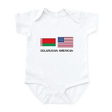 Belarusian American Infant Bodysuit