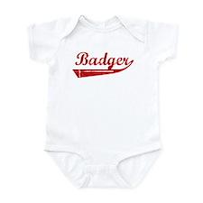 Badger (red vintage) Infant Bodysuit