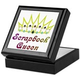 Scrapbook Queen Scrapbooking Keepsake Box