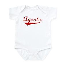 Agosto (red vintage) Infant Bodysuit