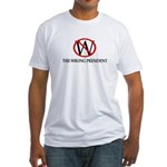 W: The Wrong President Fitted T-Shirt