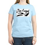 I'm Legal 21 Women's Pink T-Shirt