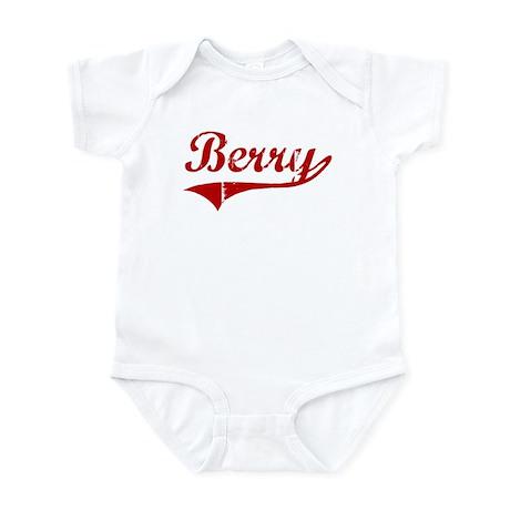 Berry (red vintage) Infant Bodysuit