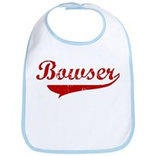 Bowser (red vintage) Bib