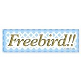 Freebird Bumper Bumper Sticker