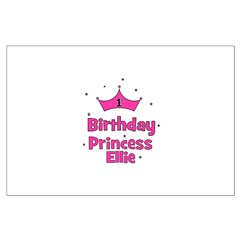 1st Birthday Princess Ellie! Posters