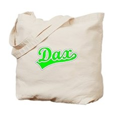 Retro Dax (Green) Tote Bag
