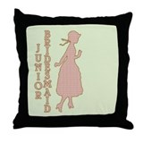 Victorian Junior Bridesmaid Throw Pillow