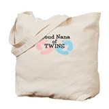 New Nana Twins Girl Boy Tote Bag