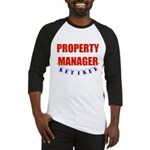Retired Property Manager Baseball Jersey