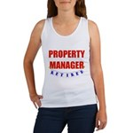 Retired Property Manager Women's Tank Top
