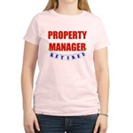 Retired Property Manager Women's Light T-Shirt