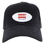 Retired Property Manager Black Cap