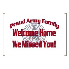 Proud Army Family Banner