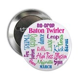 "Baton Twirler 2.25"" Button (10 pack)"