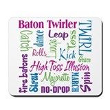Baton Twirler Mousepad