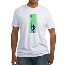 READY TO ROW GREEN BLUE PAINTED Shirt