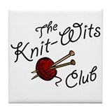 Knit Wit Club Tile Coaster