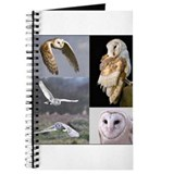 Funny Barn owl Journal