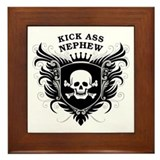 Kick Ass Nephew Framed Tile
