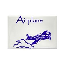 The Blue Plane Rectangle Magnet