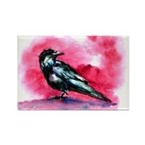 Bird Art Rectangle Magnet