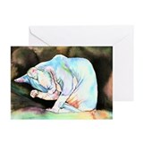 Sphynx Greeting Cards (Pk of 10)