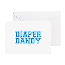 Diaper Dandy Greeting Card