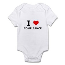 I (heart) Compliance Infant Bodysuit