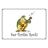 Sea Turtles Rock Banner