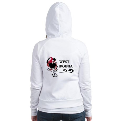 Heart West Virginia Jr. Hoodie