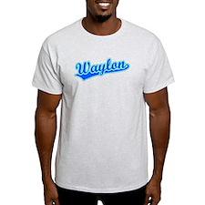 Retro Waylon (Blue) T-Shirt