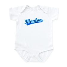 Retro Waylon (Blue) Infant Bodysuit